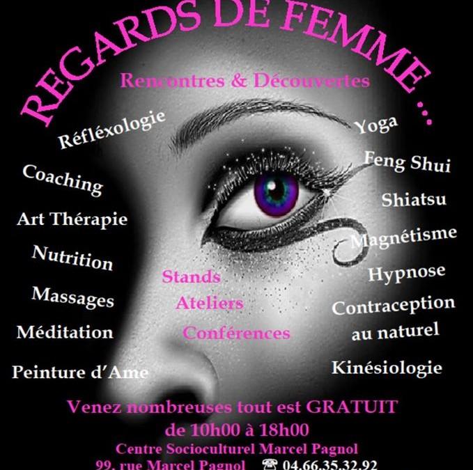 Atelier Bien-être à «Regards de femmes» à Vergèze (07/11/2015)
